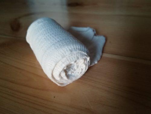 opatrunek bawełniany